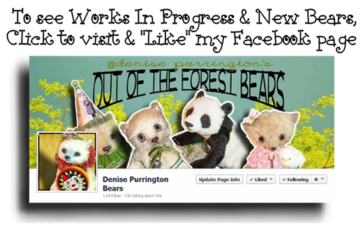 Denise Purrington's Out of The Forest Bears on Facebook